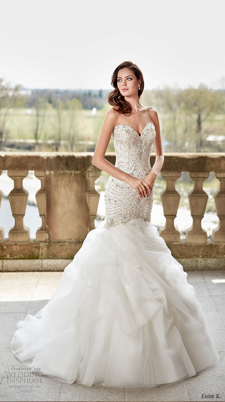 Glamorous Mermaid Wedding Dresses 8 Good eddy k couture bridal