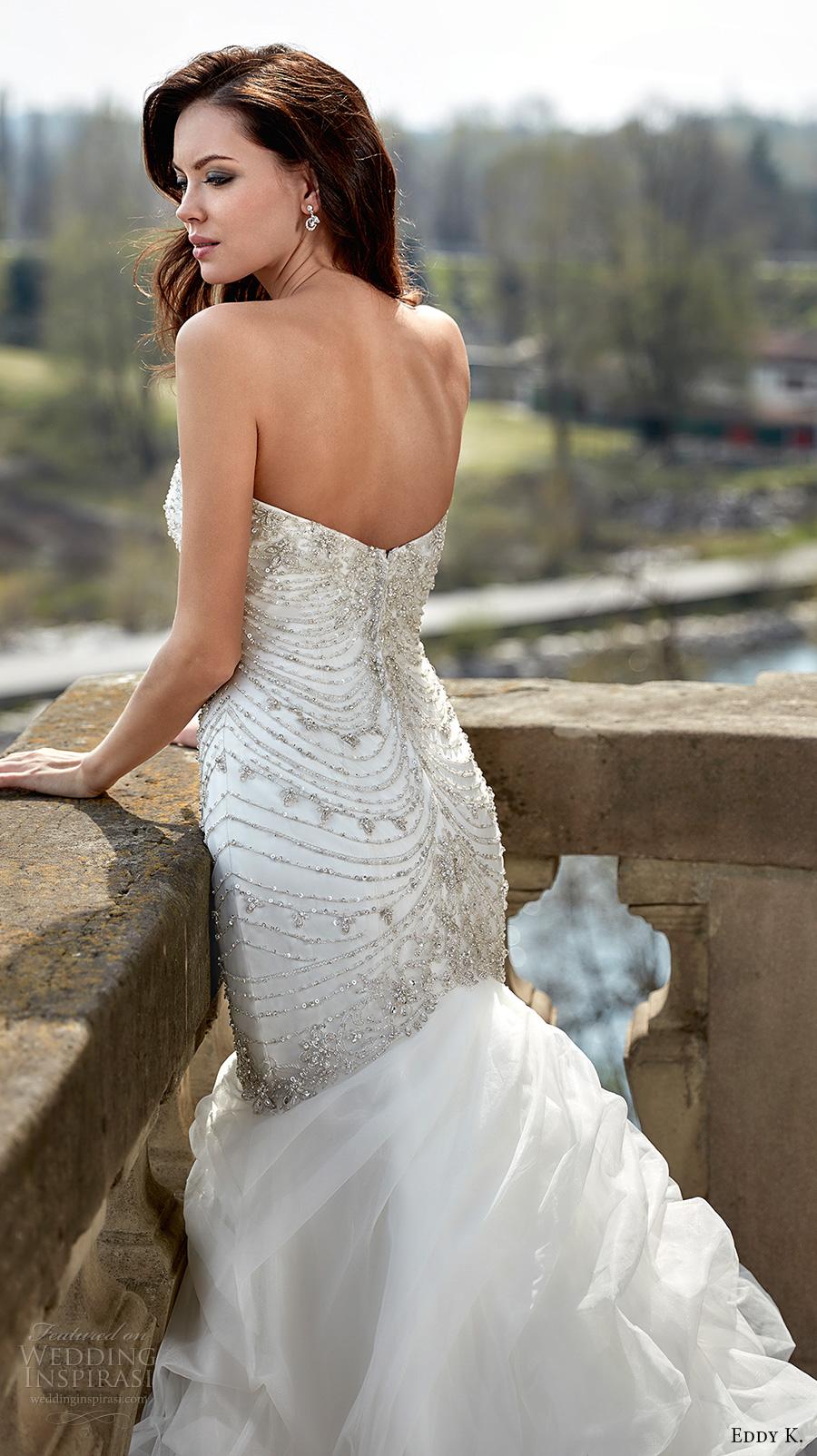 Glamorous Mermaid Wedding Dresses 17 Simple eddy k couture bridal