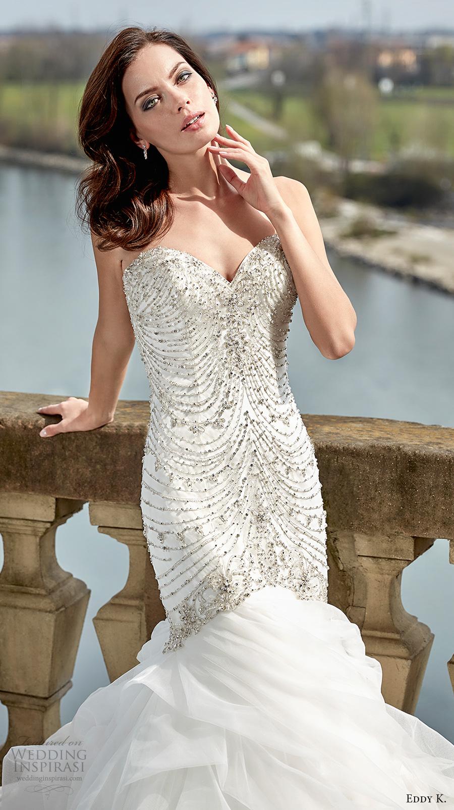 Glamorous Mermaid Wedding Dresses 1 Spectacular eddy k couture bridal