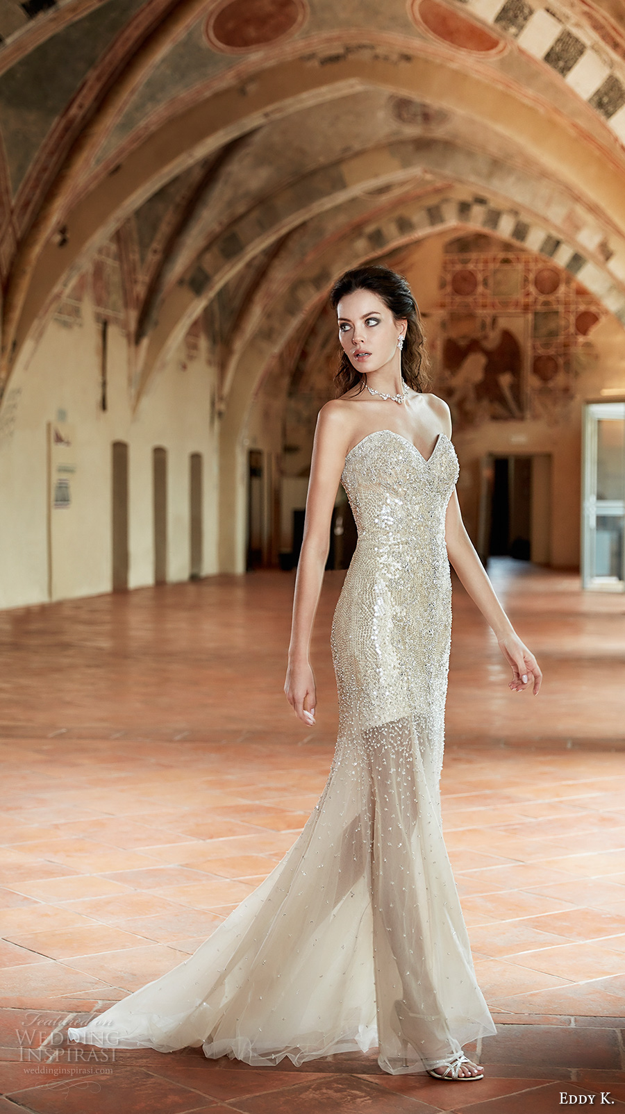 Glitter Wedding Dresses