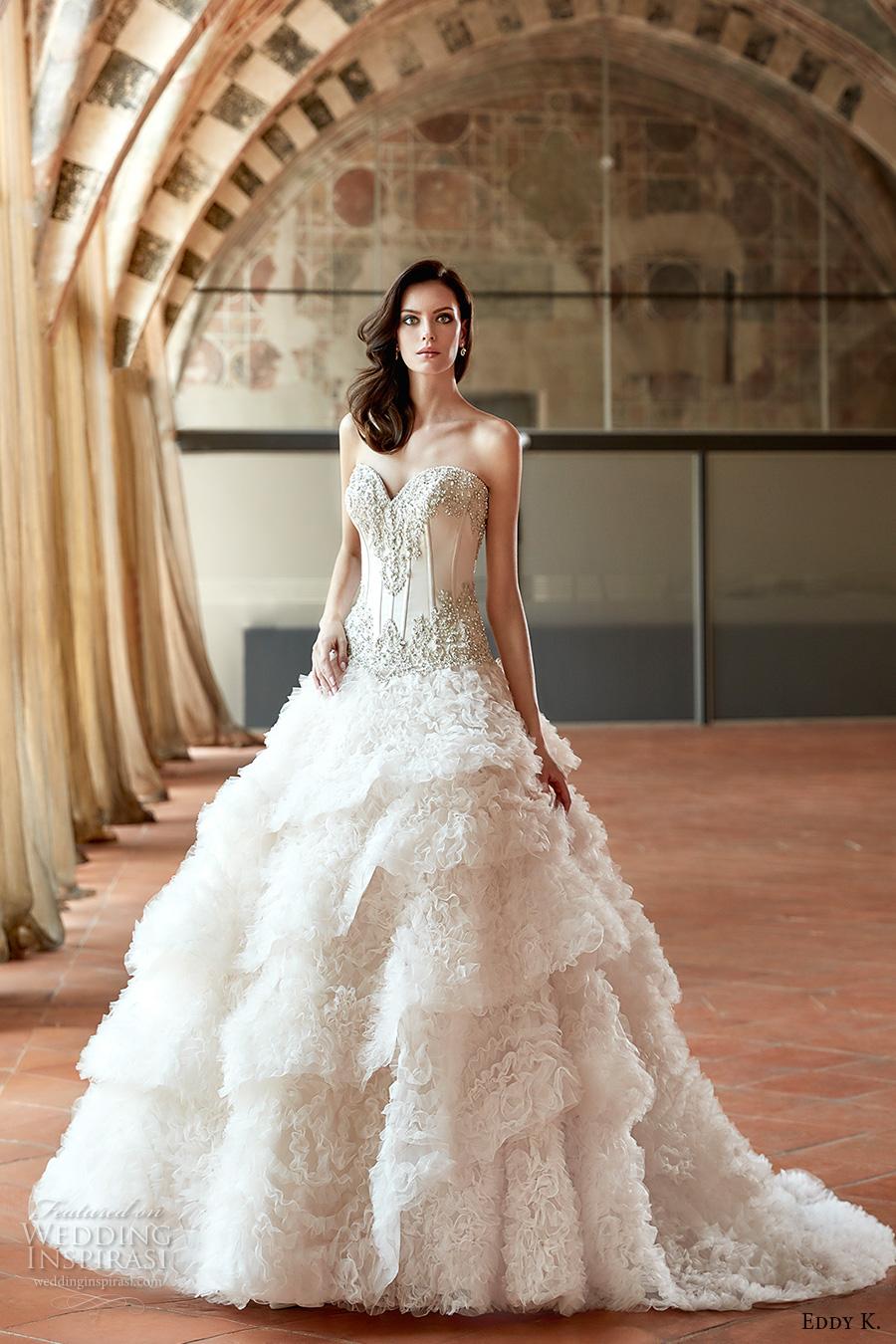 Corset Short Wedding Dress 61 Ideal eddy k couture bridal