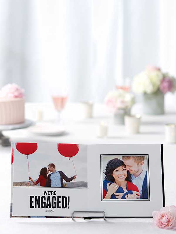 engagement photo books shutterfly wedding photo book premium layflat pages bridal party guest book albums