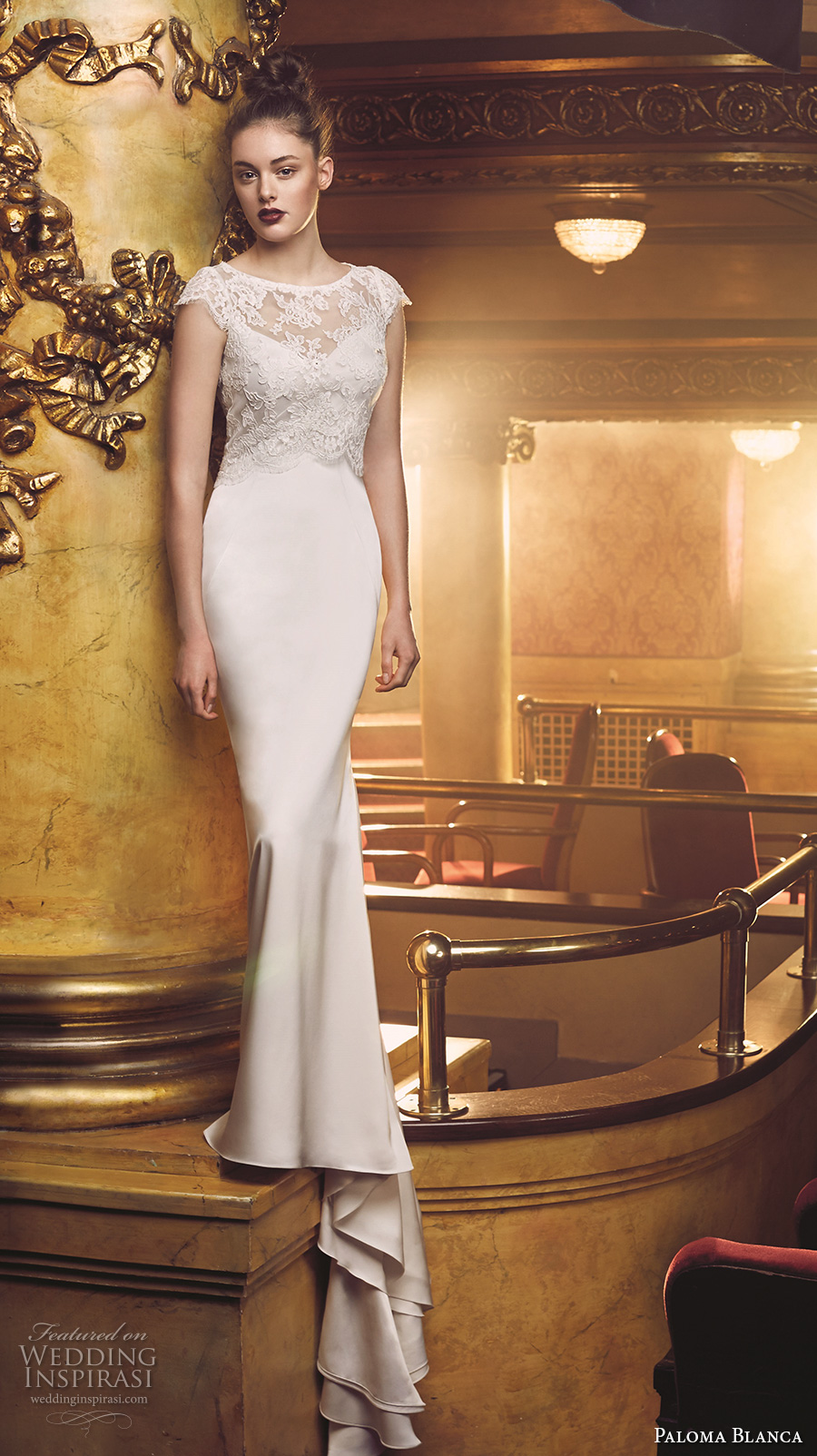 Paloma Blanca Fall 2016 Wedding Dresses Wedding Inspirasi