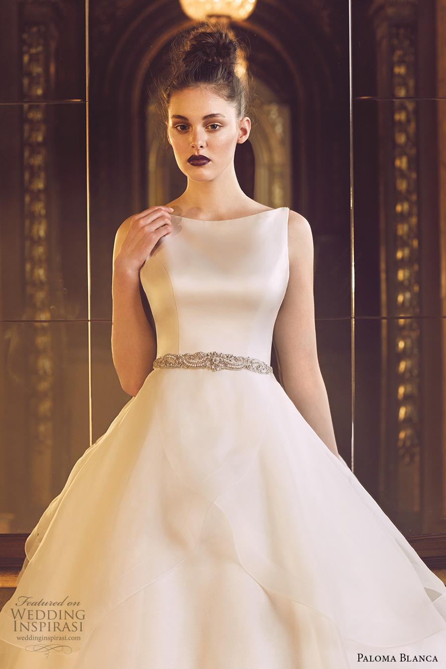 Simple Wedding Dress Pattern 38 New paloma blanca fall bridal