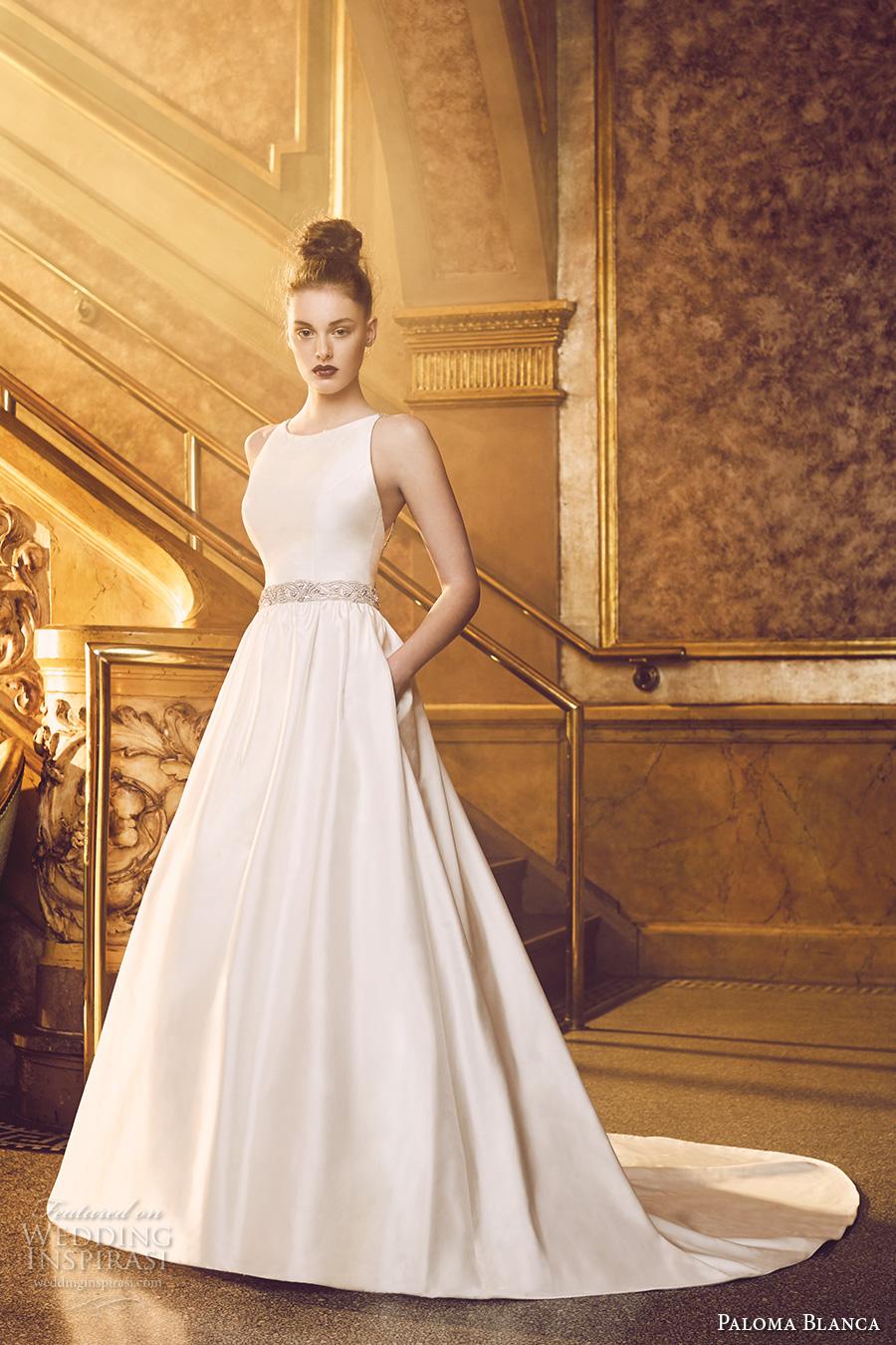 Simple Wedding Dress Pattern 87 Trend paloma blanca fall bridal