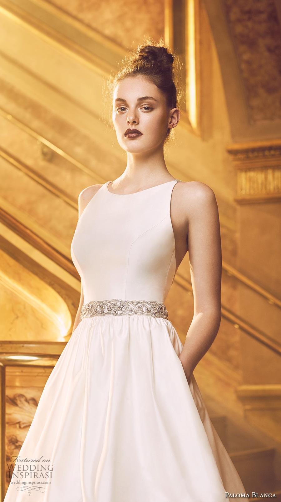 Simple Wedding Dress Pattern 37 Nice paloma blanca fall bridal