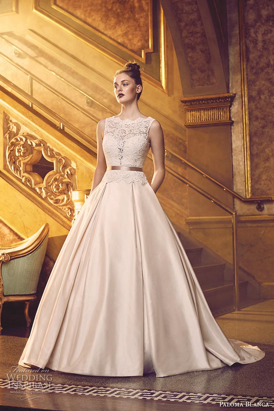 Paloma Blanca Fall 2016 Wedding Dresses | Wedding Inspirasi
