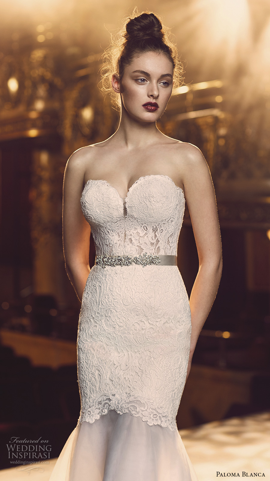 Strapless Bustier For Wedding Dress