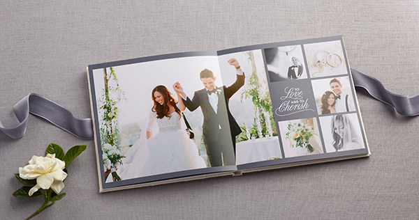 shutterfly wedding photo book premium layflat page album style contemporary wedding photography theme