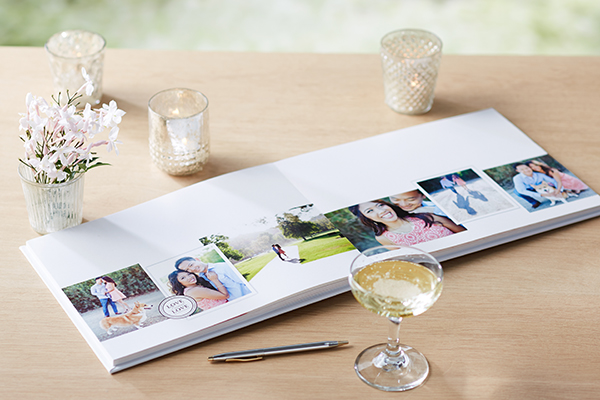wedding guest books diy shutterfly photo books premium thick layflat pages personalized wedding album alternatives