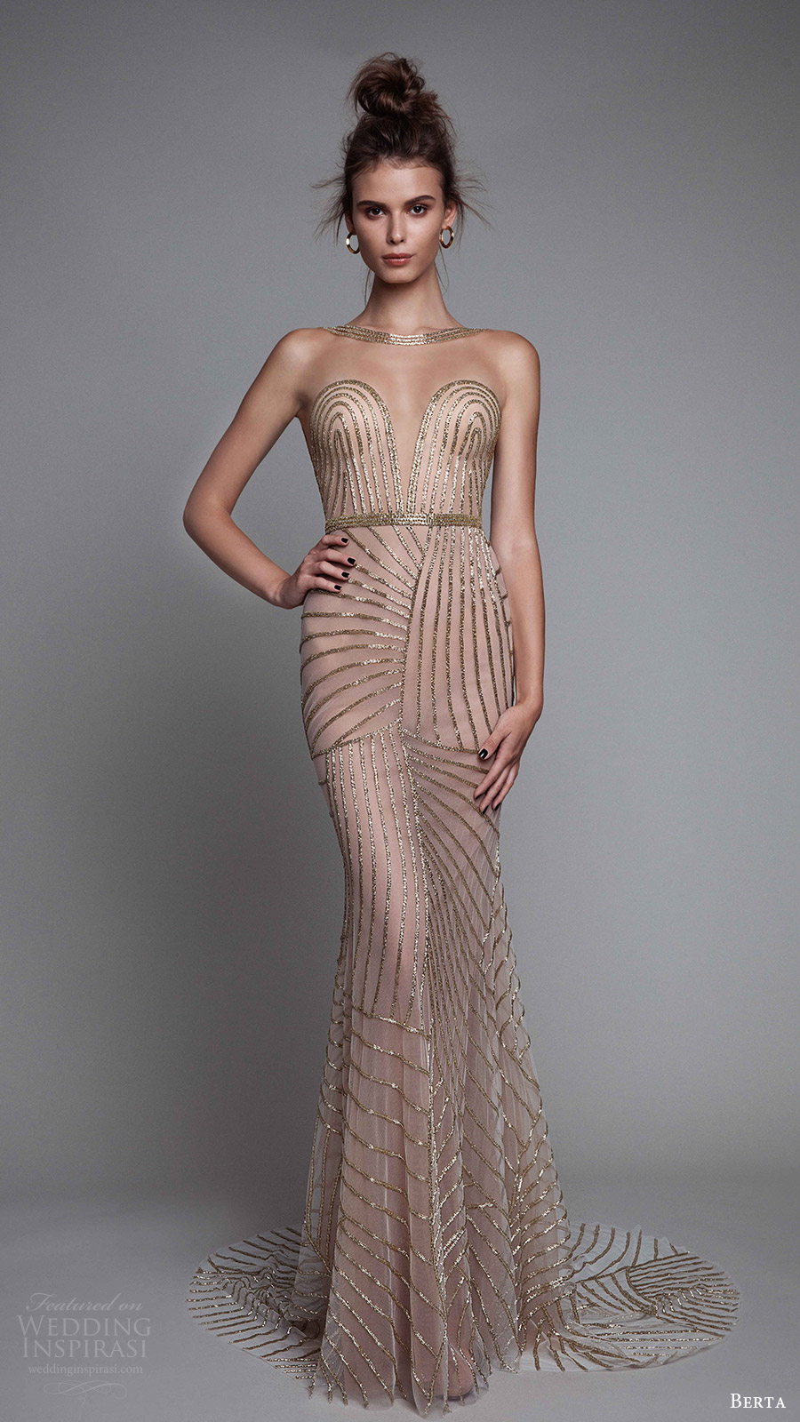 Berta Fall 2017 Ready-to-Wear Collection | Wedding Inspirasi