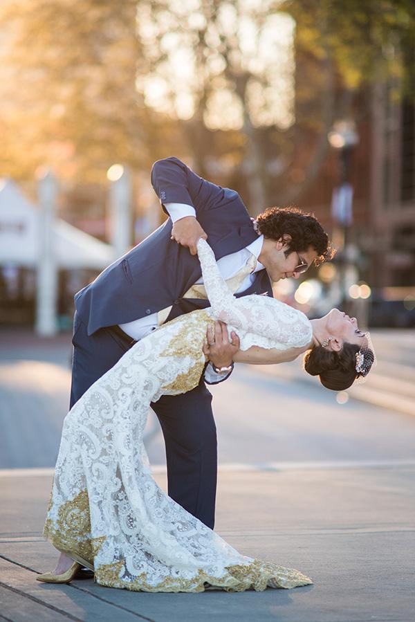 Sparkling Courthouse Wedding In Portland Oregon Wedding