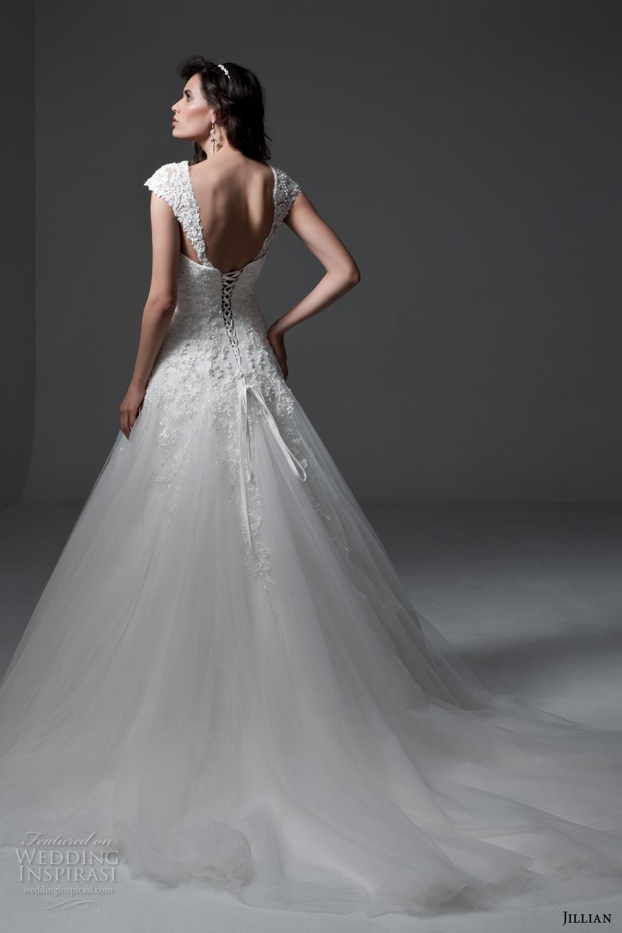 Corsets Wedding Dresses 50 Ideal jillian bridal detachable cap