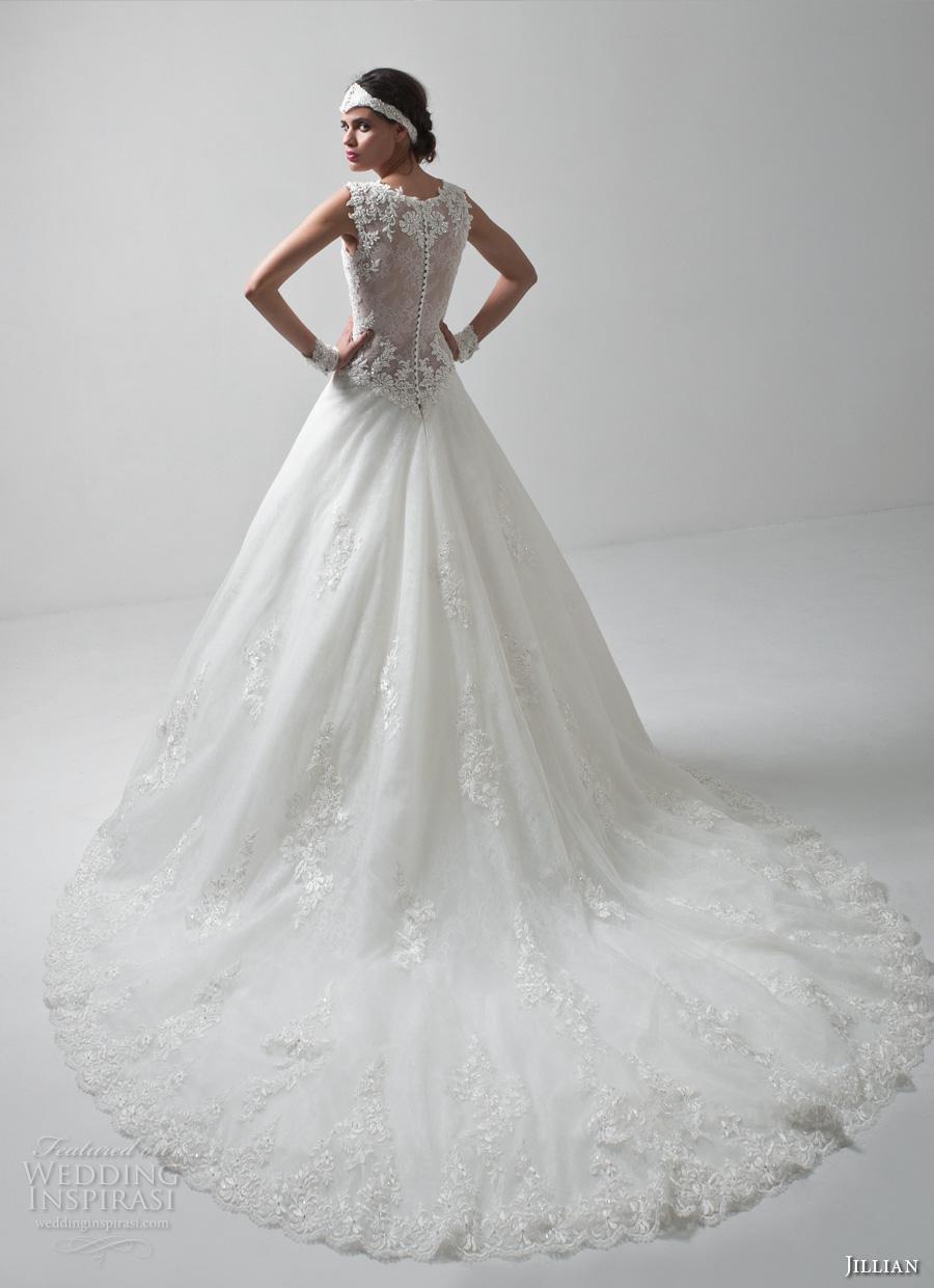 jillian 2017 bridal sleeveless thicks trap v neck deep plunging neckline sexy princess a  line wedding dress lace illusion back royal train (matilde) mv