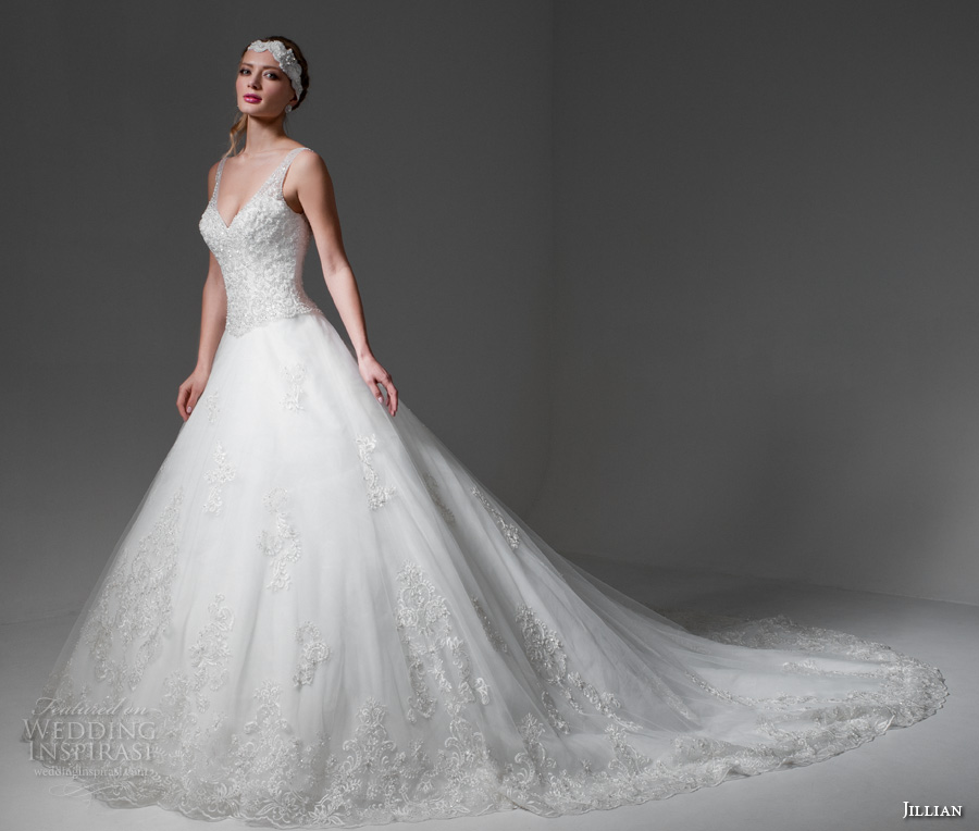 Two In One Wedding Gown 46 Awesome jillian bridal sleeveless v