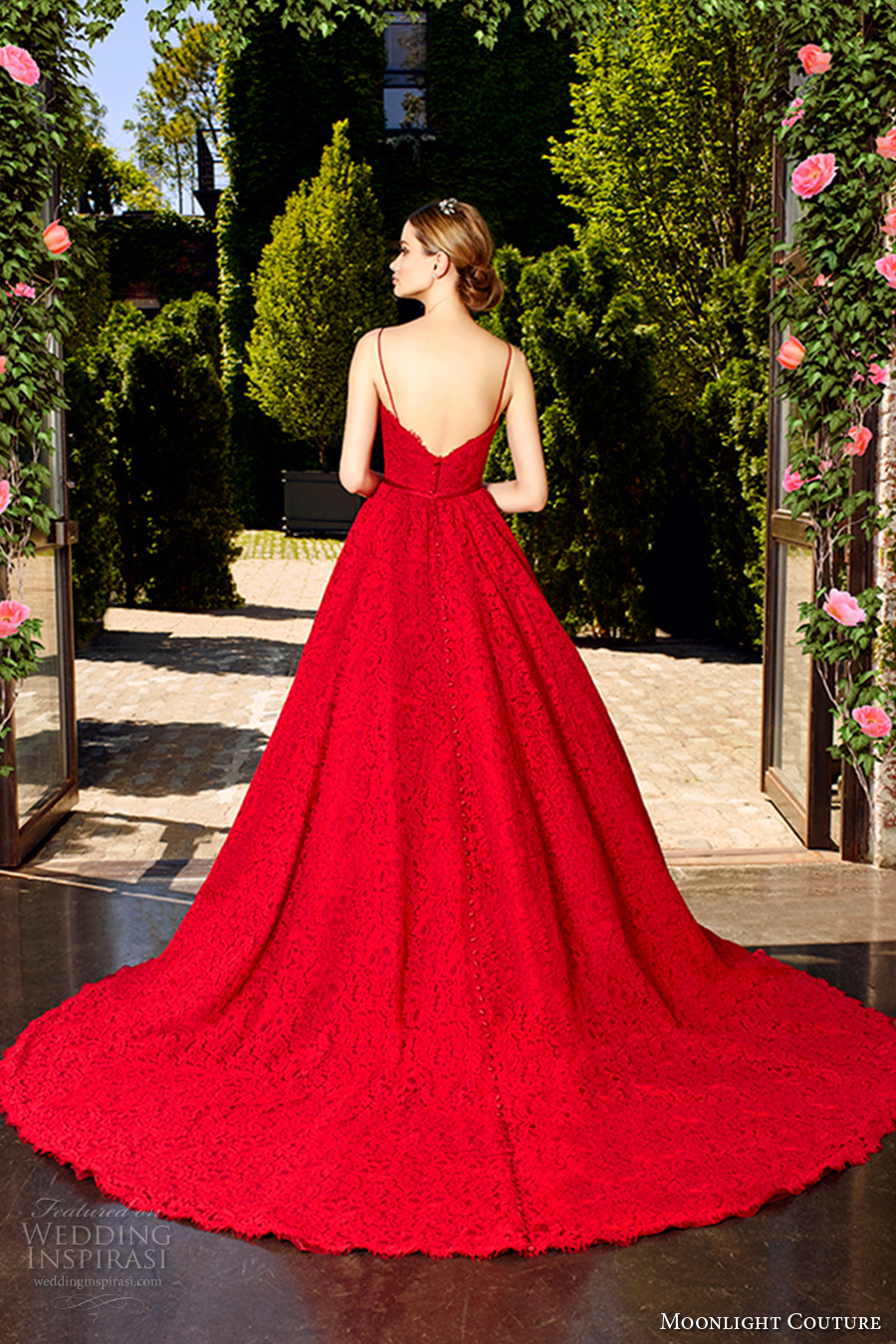Sexy Red Wedding Dresses