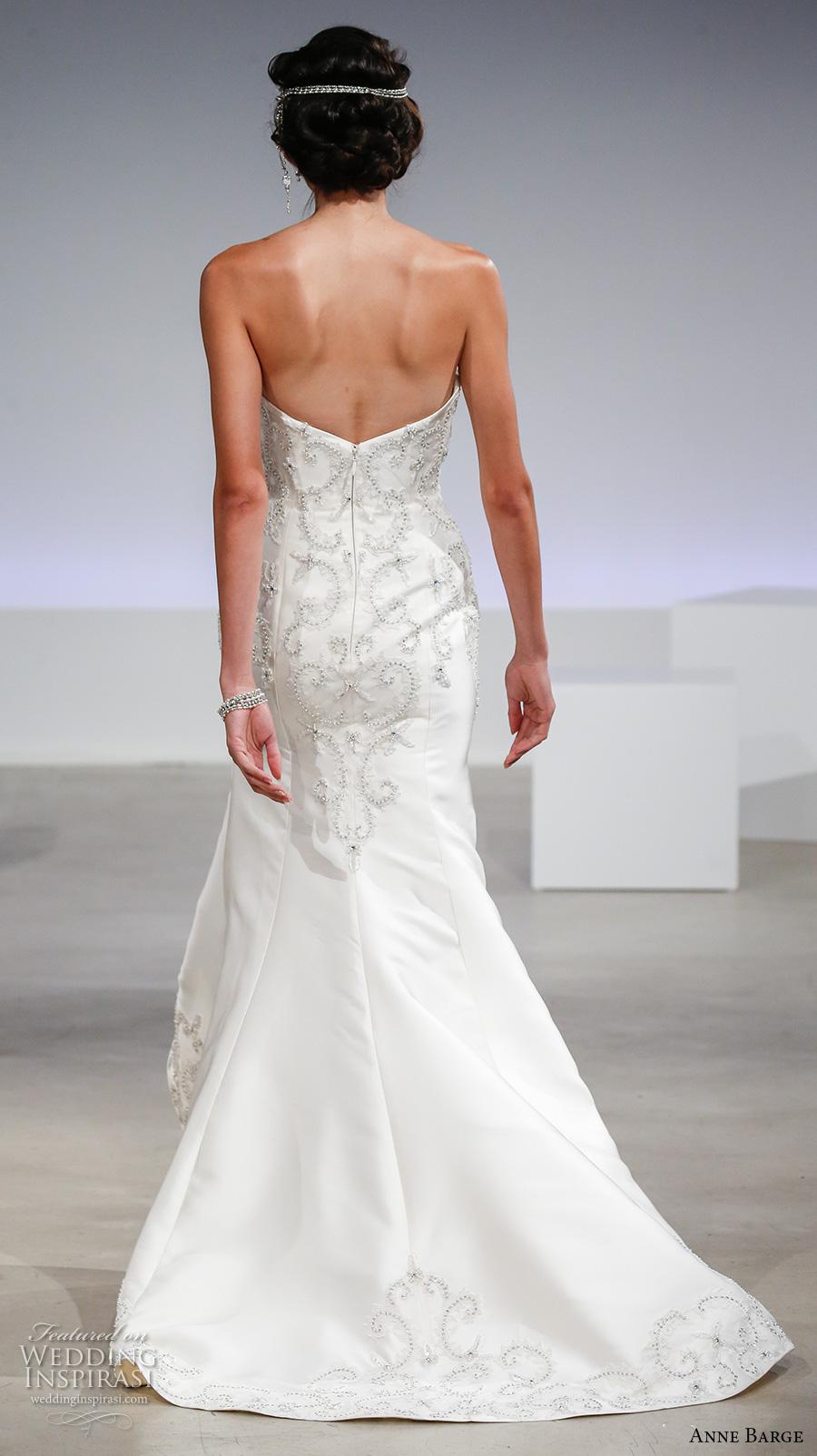 Anne barge fall 2017 wedding dresses wedding inspirasi for Strapless wedding dresses 2017