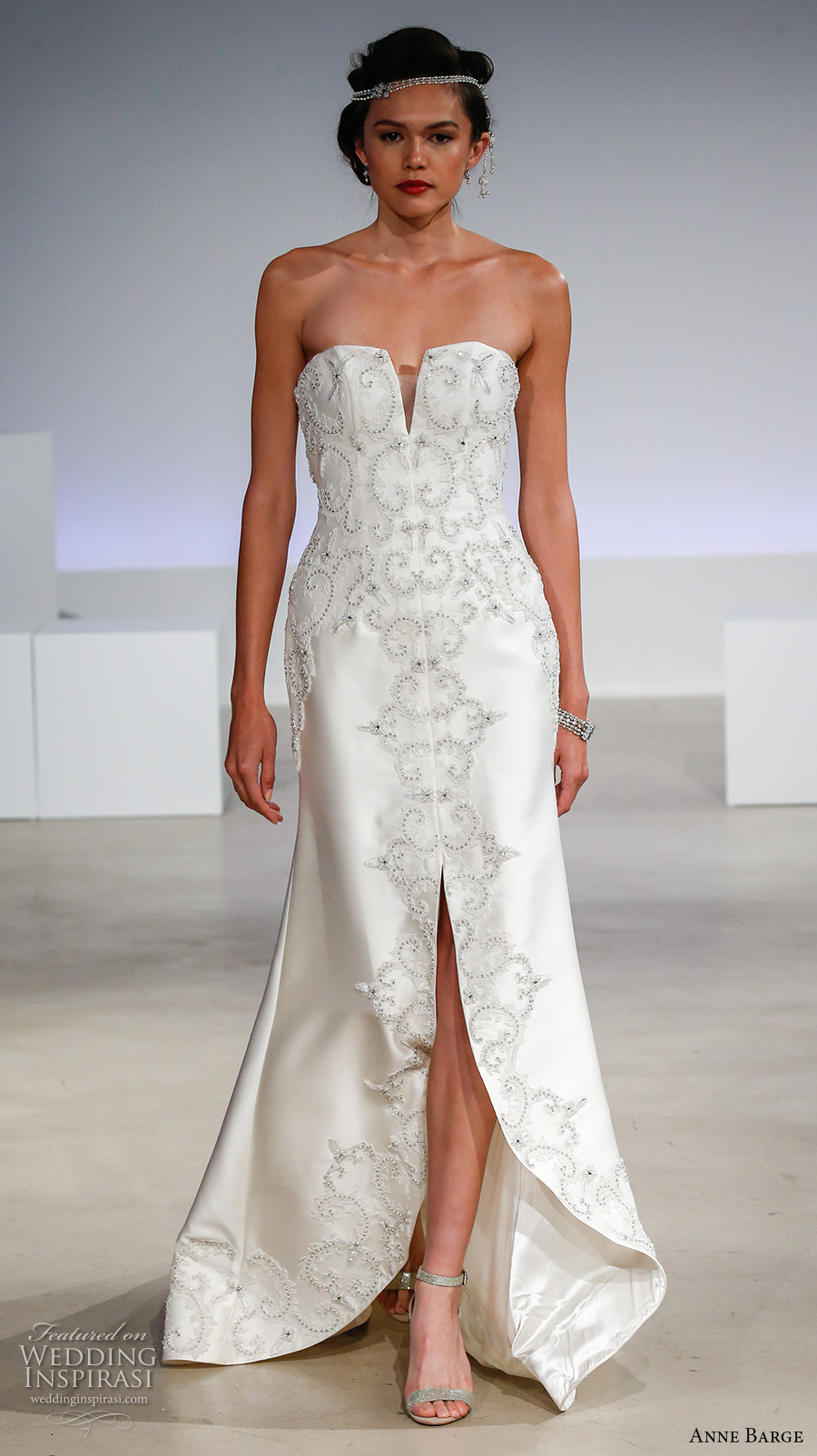 Anne Barge Fall 2017 Wedding Dresses Wedding Inspirasi