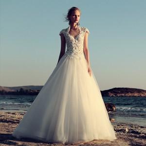 christos costarellos fall 2017 bridal feature wedding inspirasi dresses gowns collection