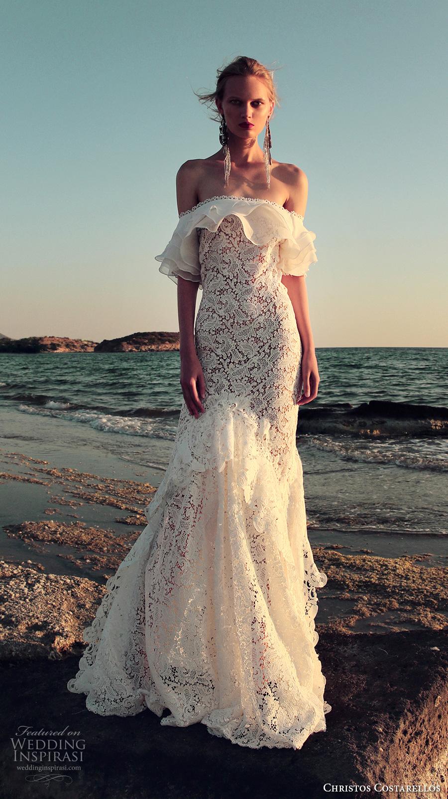 Mermaid Wedding Dresses For Sale 65 Nice christos costarellos fall bridal