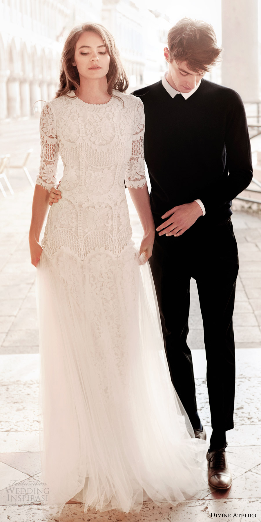Divine atelier 2017 wedding dresses wedding inspirasi for How to become a wedding dress model