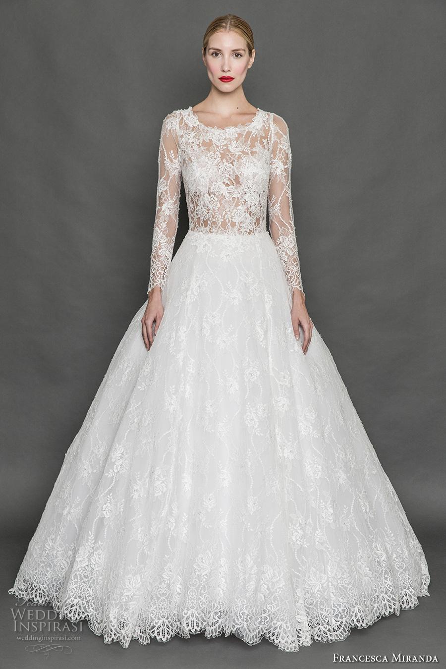Aurora Wedding Dress 43 Unique francesca miranda fall bridal
