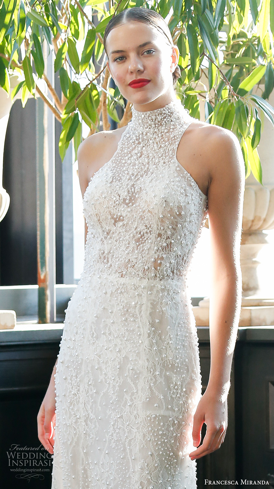 Lace Halter Wedding Dress 99 Ideal francesca miranda fall bridal