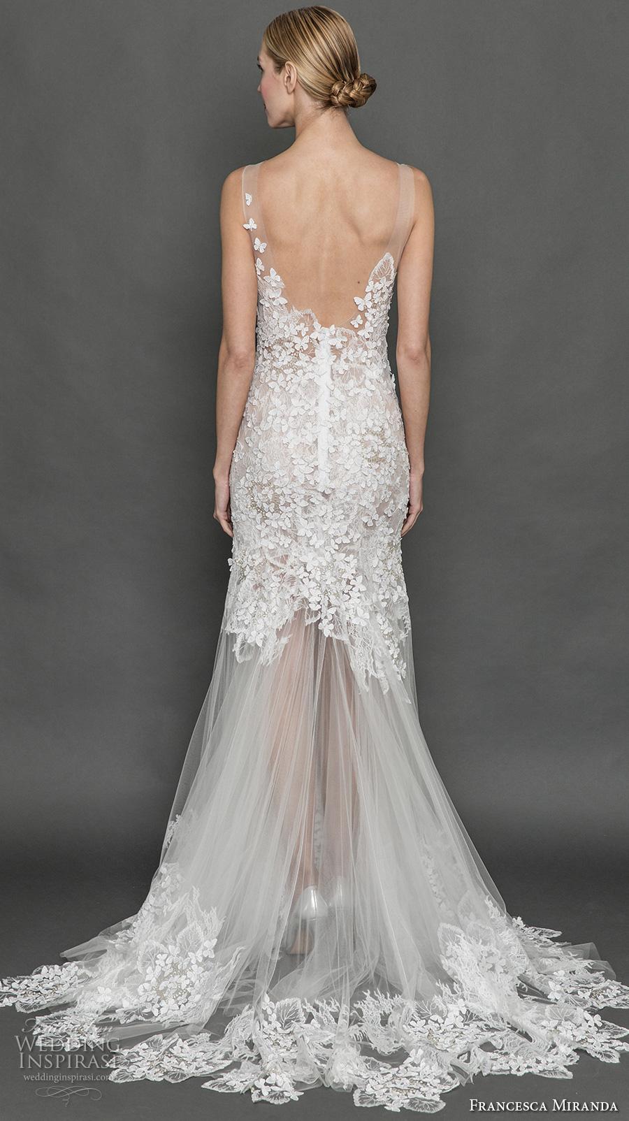 Francesca miranda fall 2017 wedding dresses wedding for Trumpet skirt wedding dress
