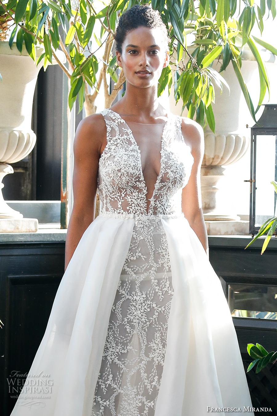 Sexy Low Back Wedding Dresses 69 Good francesca miranda fall bridal