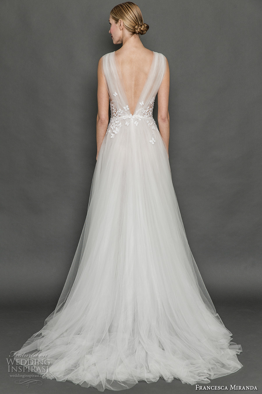 Butterfly Wedding Gown 22 Fabulous francesca miranda fall bridal