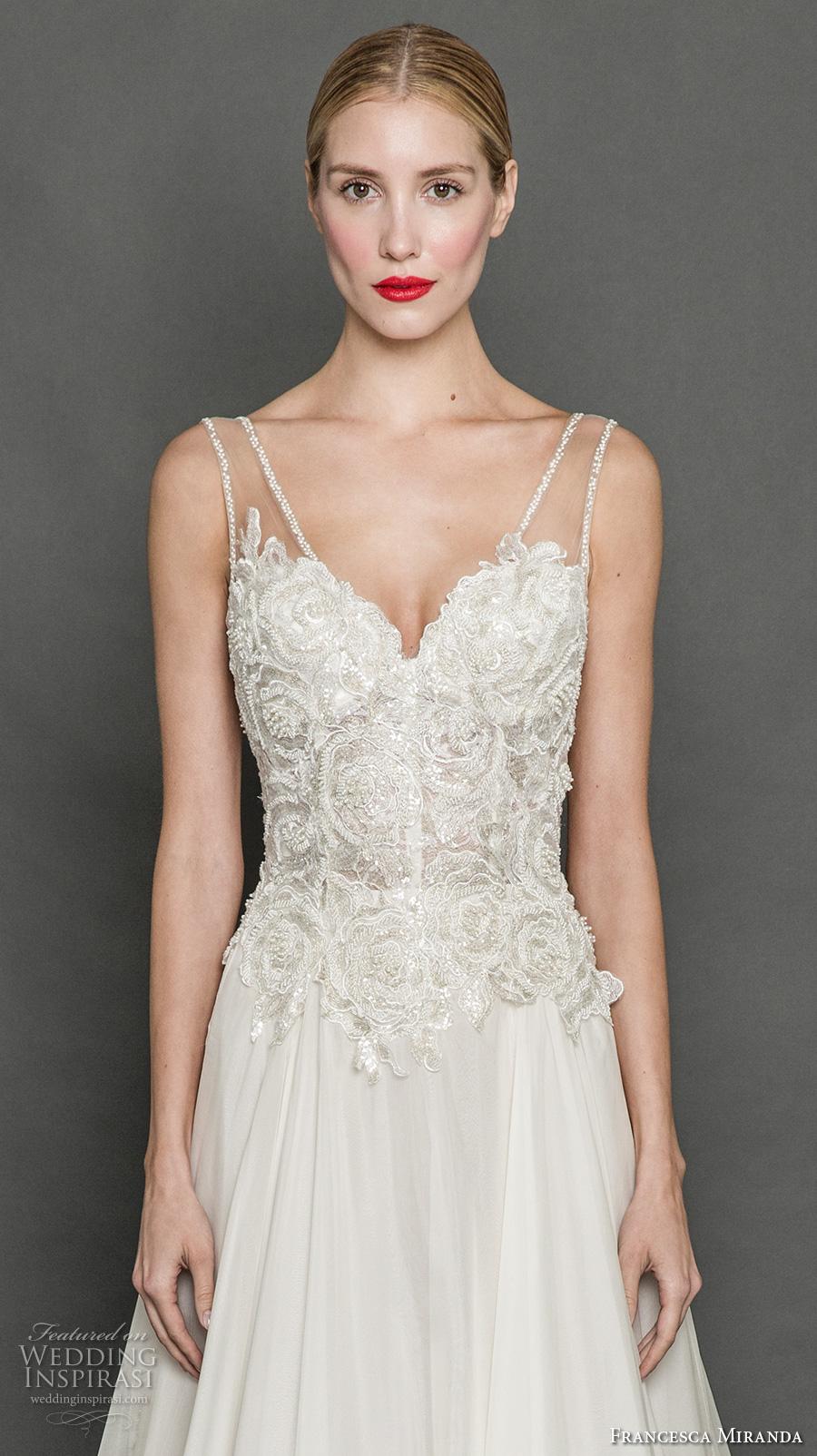 Georgette Wedding Dress 38 Inspirational francesca miranda fall bridal