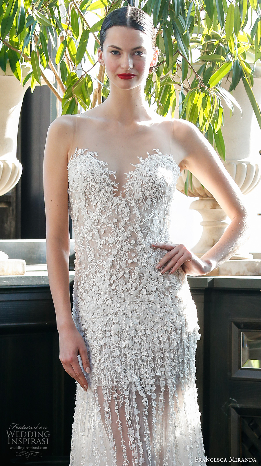Drop Back Wedding Dress 63 Ideal francesca miranda fall bridal