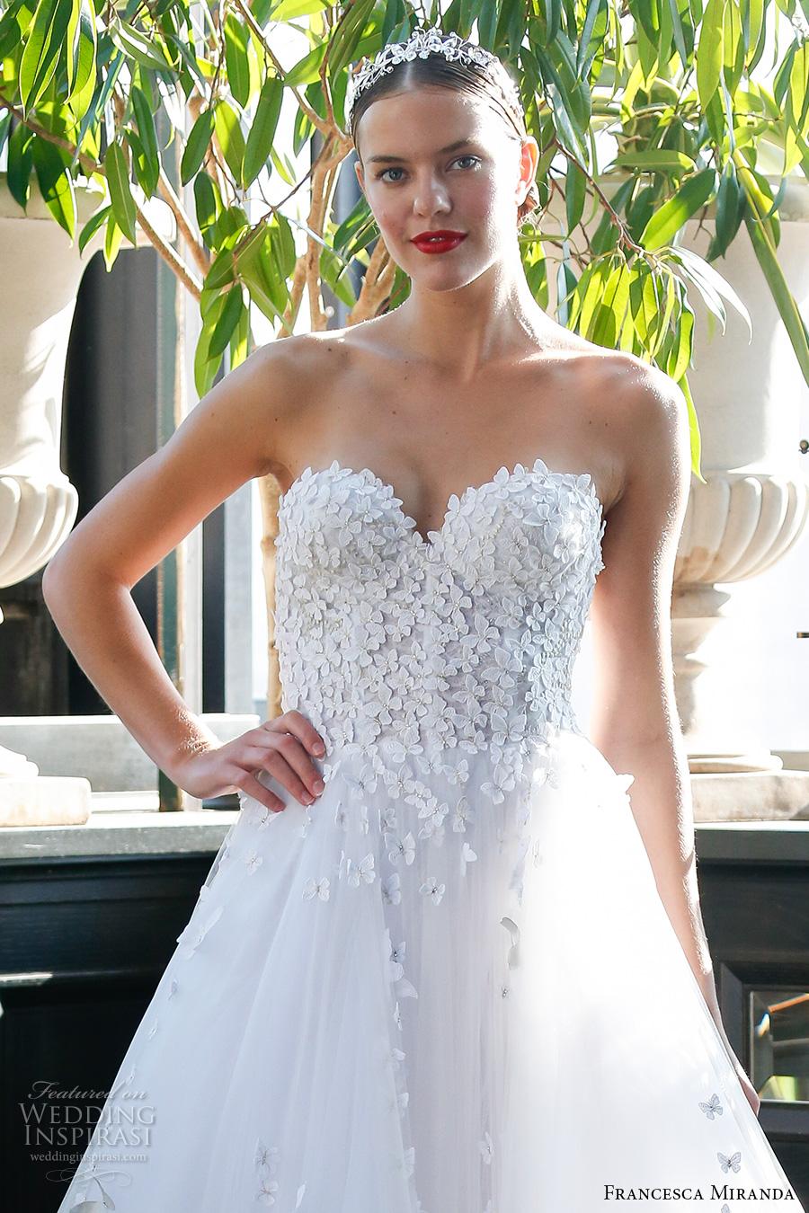 Francesca Miranda Fall 2017 Wedding Dresses | Wedding Inspirasi