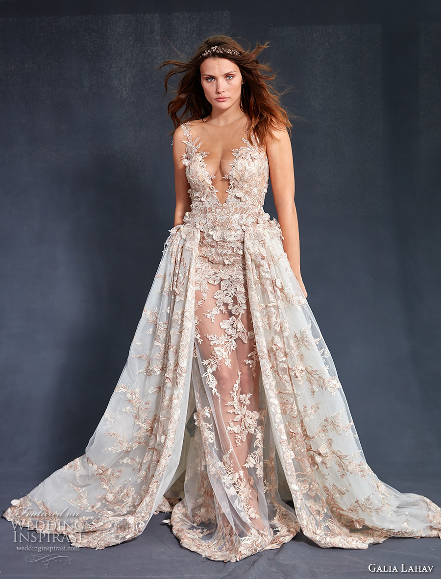 Wedding Dresses with Color Fall