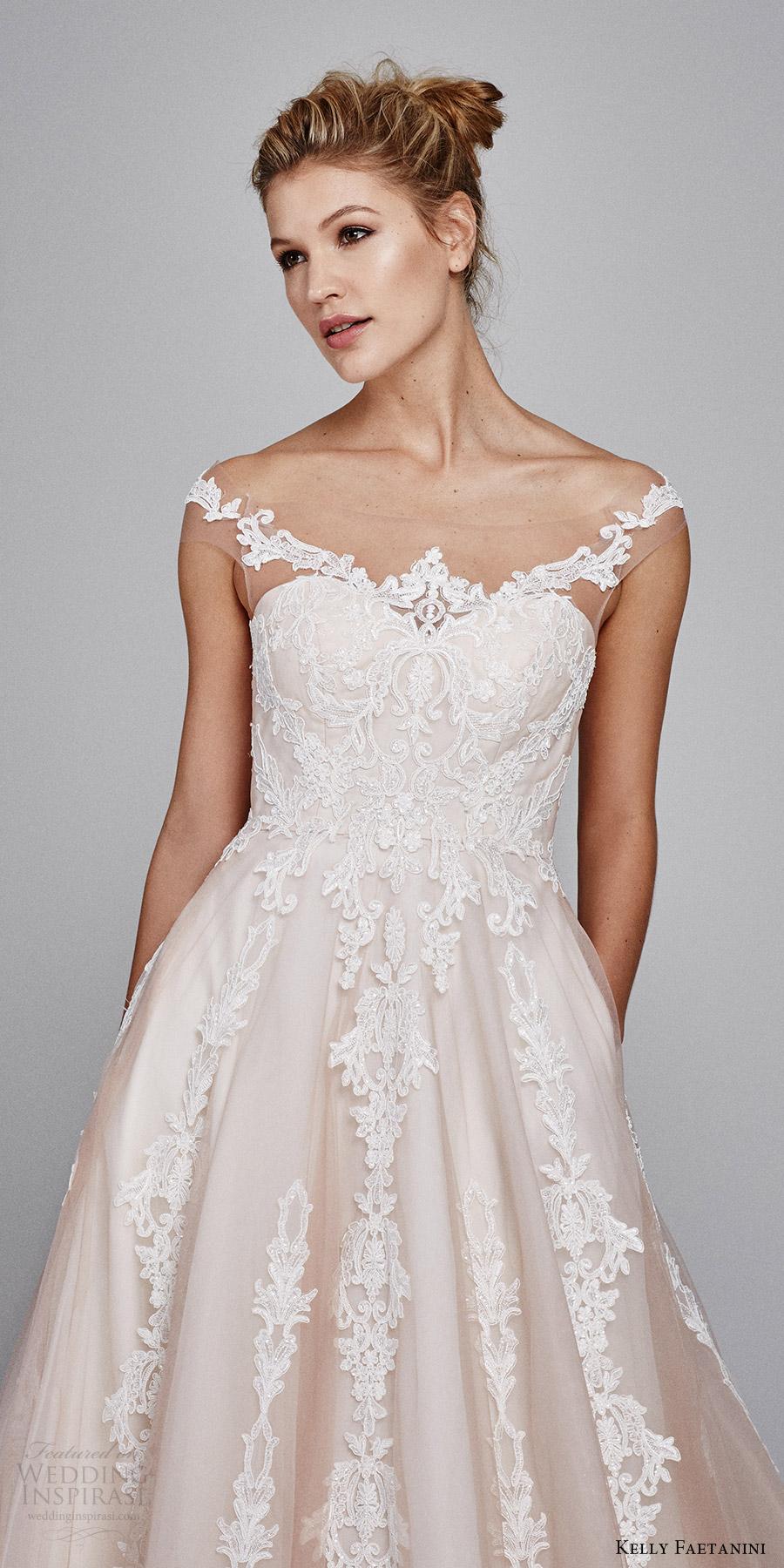 Blush Wedding Gowns 85 Beautiful kelly faetanini bridal fall