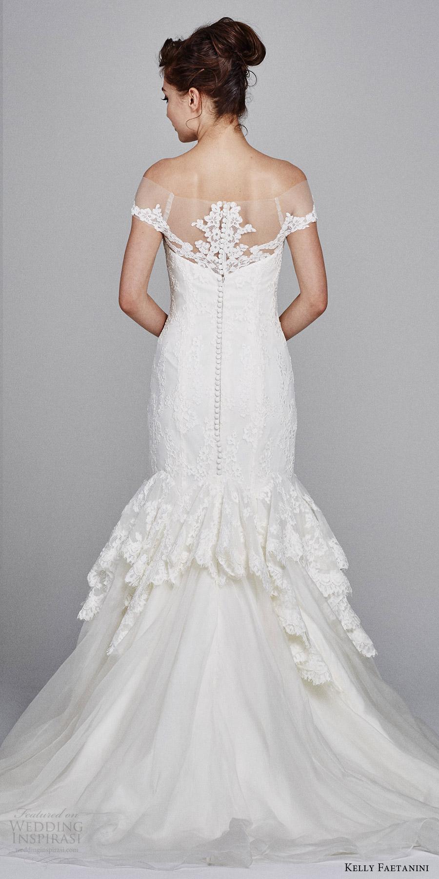 Mermaid Sweetheart Lace Wedding Dress 39 Superb kelly faetanini bridal fall