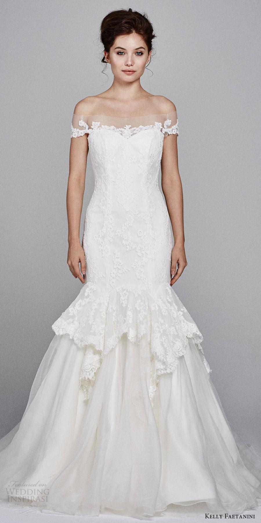 Mermaid Sweetheart Lace Wedding Dress 13 Unique kelly faetanini bridal fall