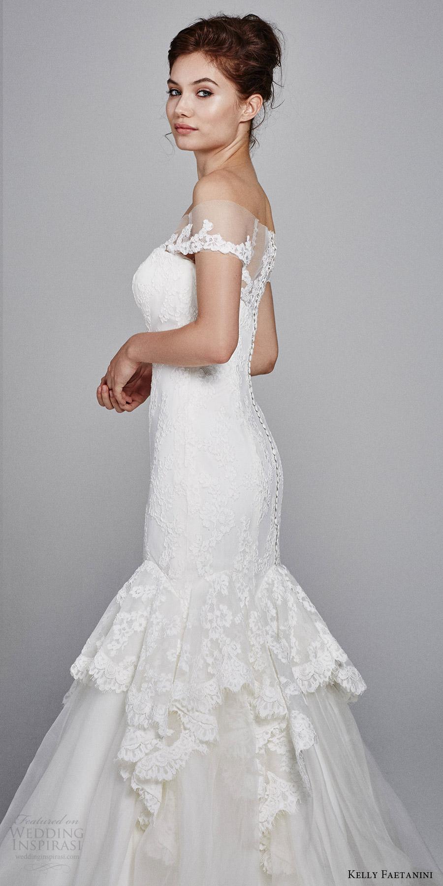 Mermaid Sweetheart Lace Wedding Dress 23 Superb kelly faetanini bridal fall