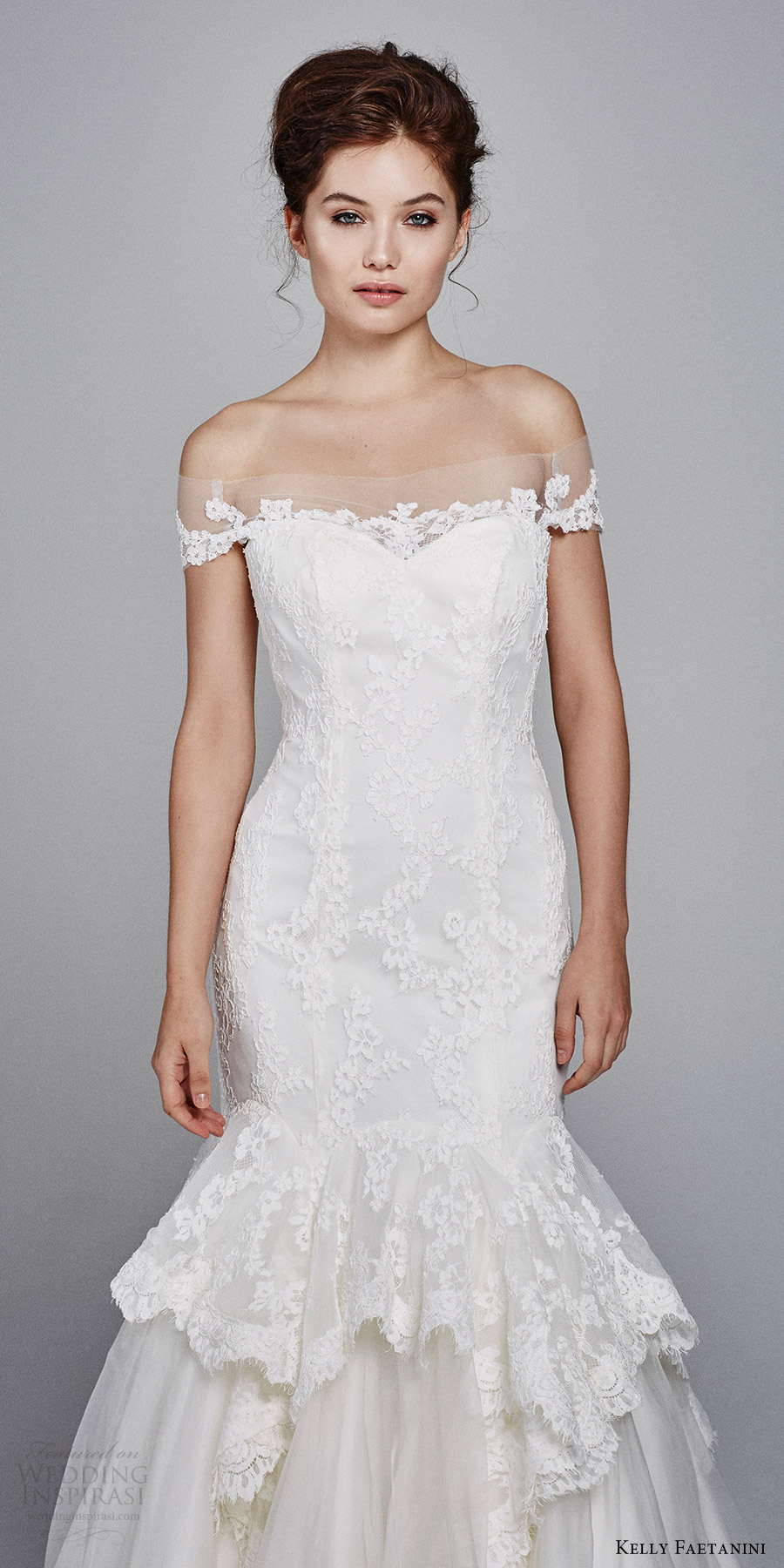Mermaid Sweetheart Lace Wedding Dress 93 Ideal kelly faetanini bridal fall