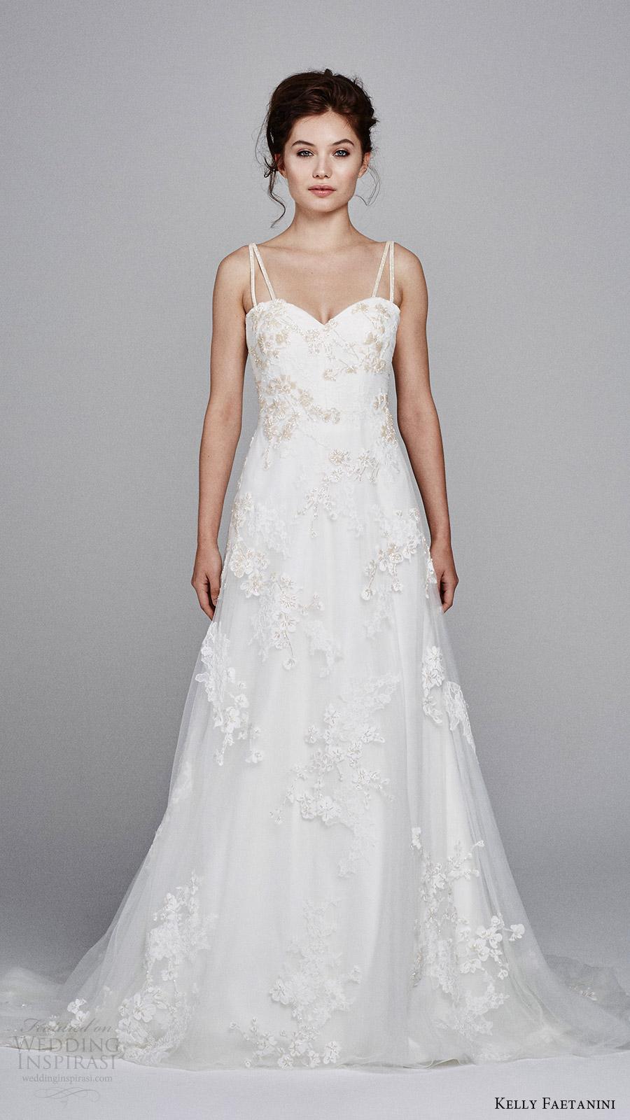 Lace Wedding Dresses 2017 38 Perfect kelly faetanini bridal fall