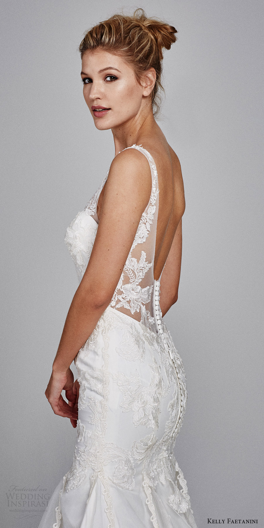 Wedding Dress Buttons 39 New kelly faetanini bridal fall