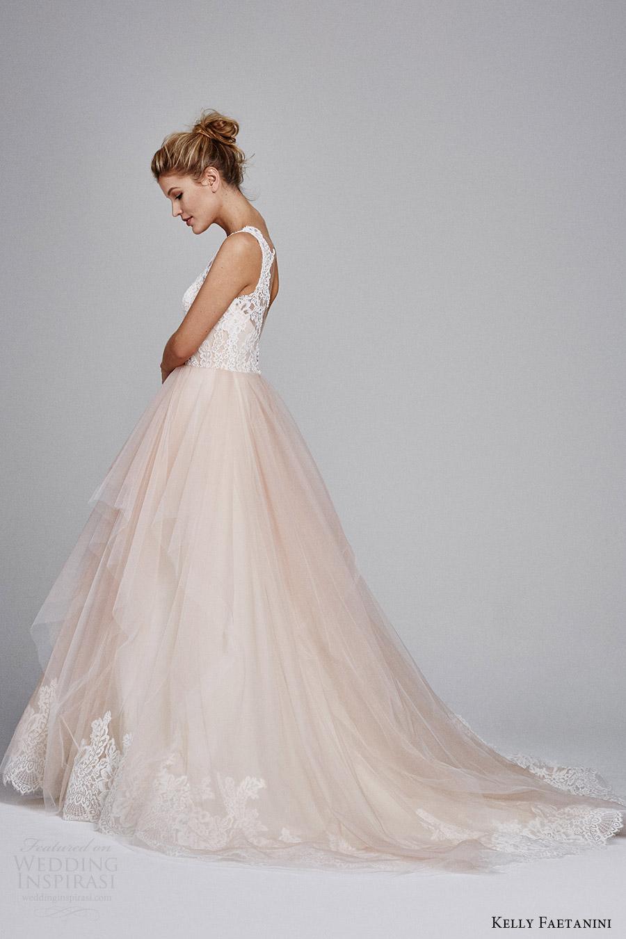Blush Wedding Dresses 41 Good kelly faetanini fall sleeveless