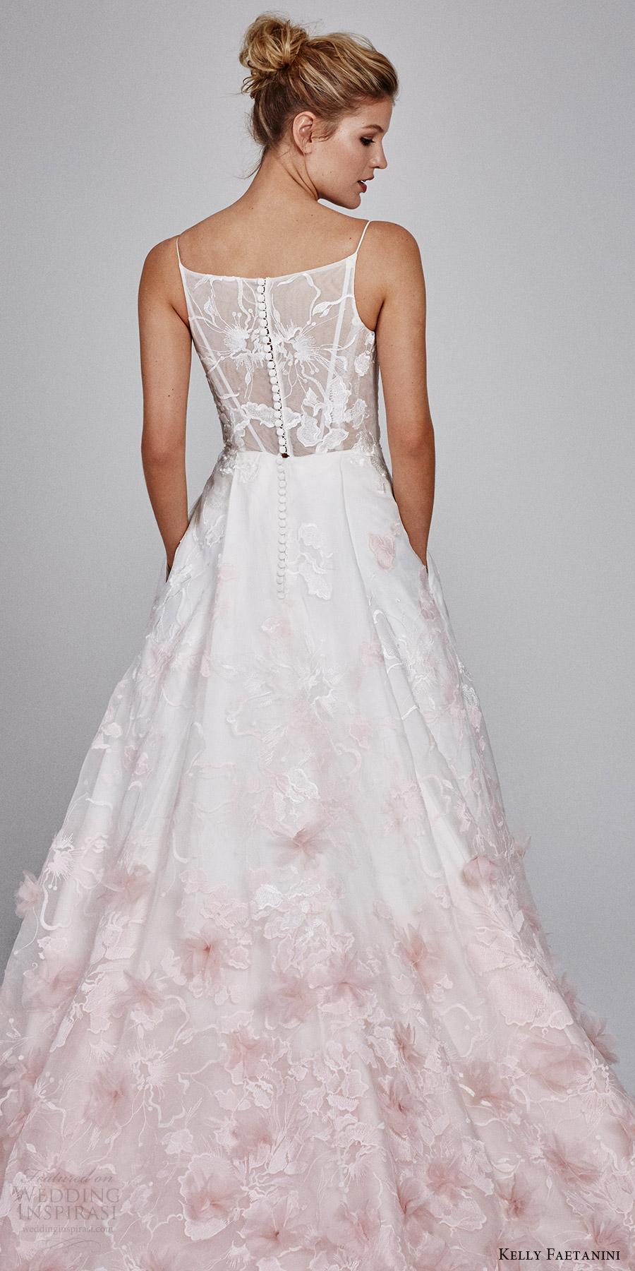 Blush Wedding Dresses 32 Fancy kelly faetanini fall sleeveless