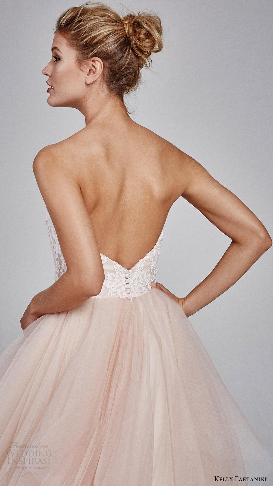 Blush Wedding Dresses 96 Cute kelly faetanini fall strapless