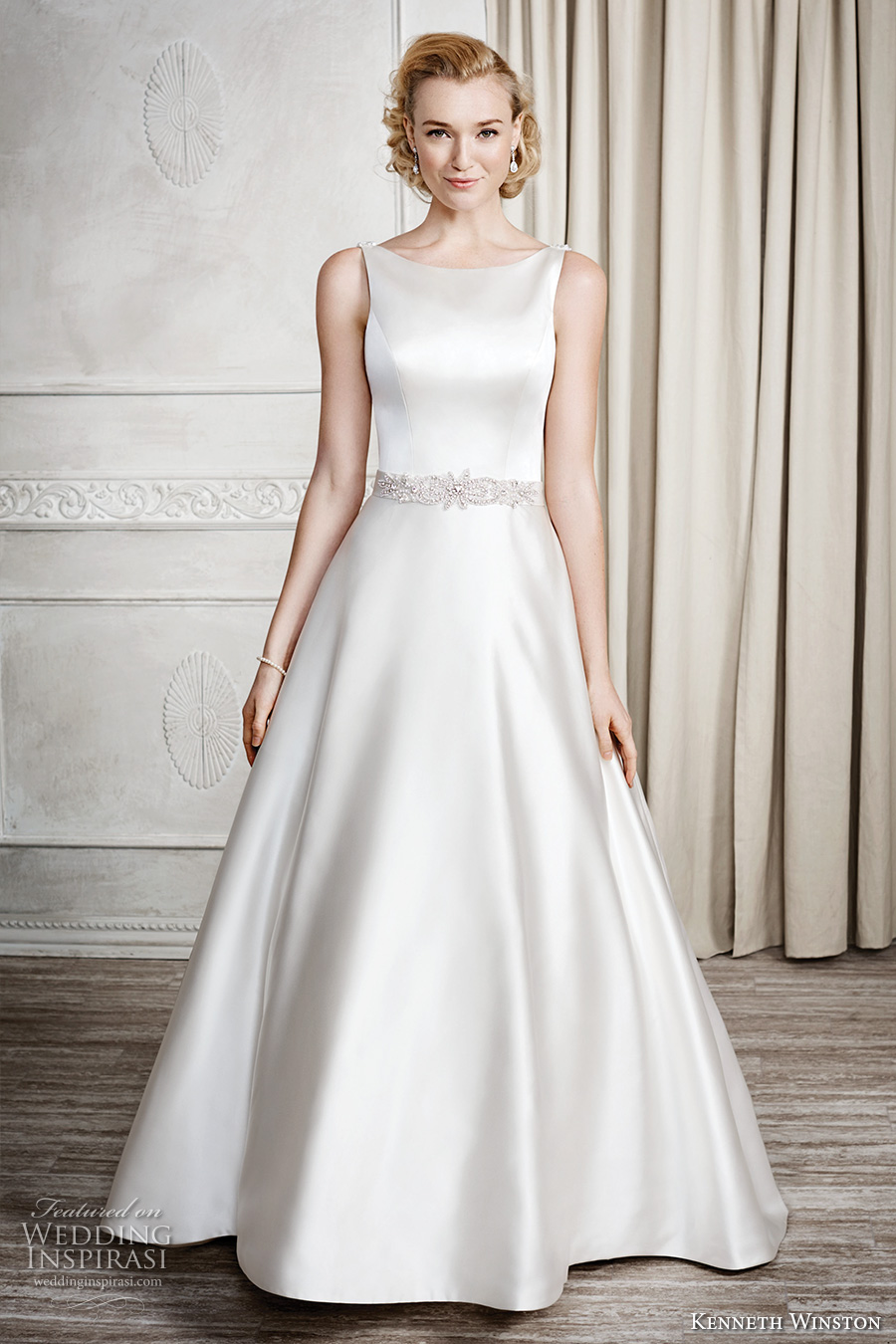 Kenneth winston fall 2016 wedding dresses wedding inspirasi for Dresses for a fall wedding