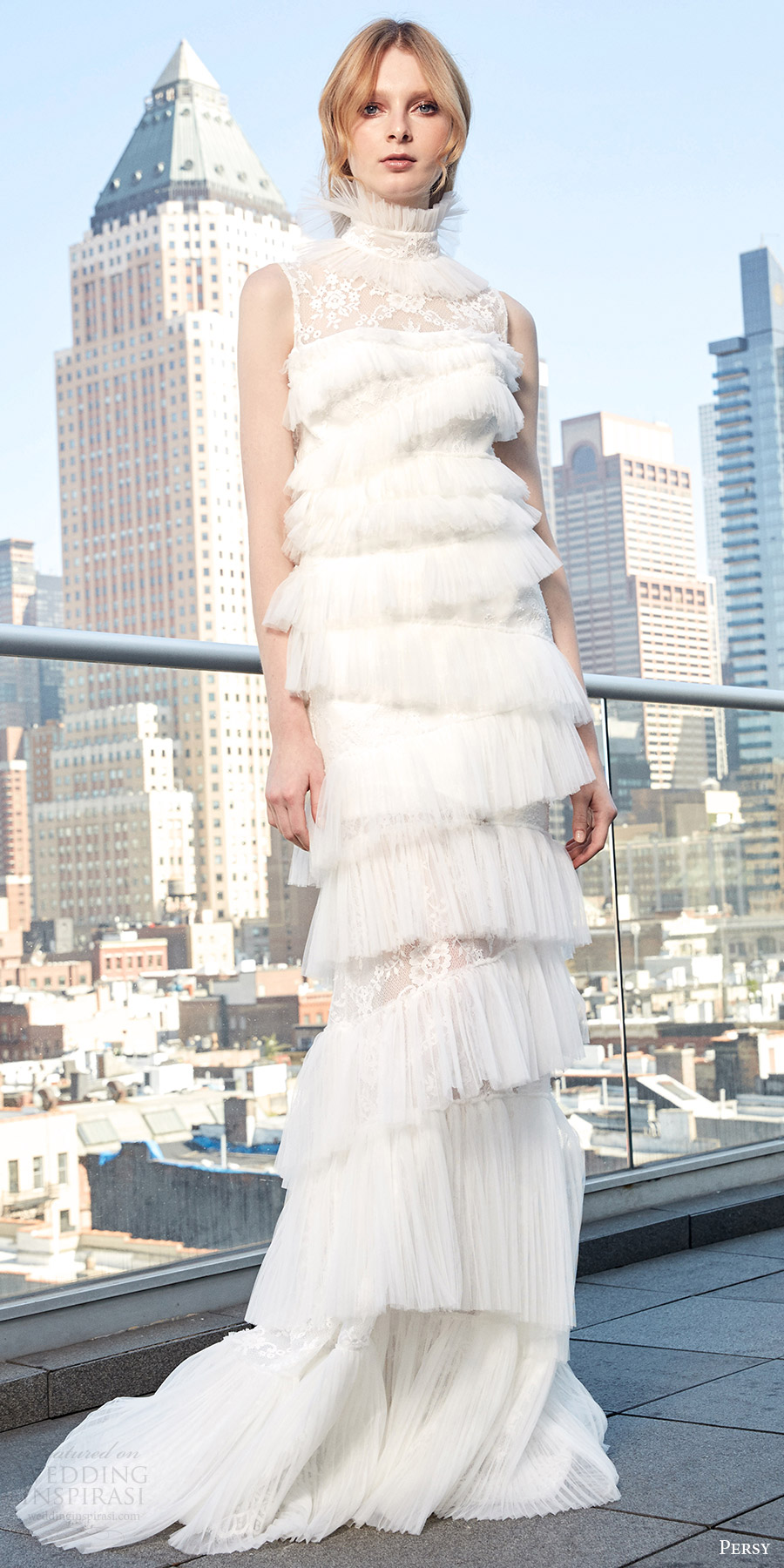 Tiered Wedding Dresses 61 Marvelous persy spring bridal sleeveless