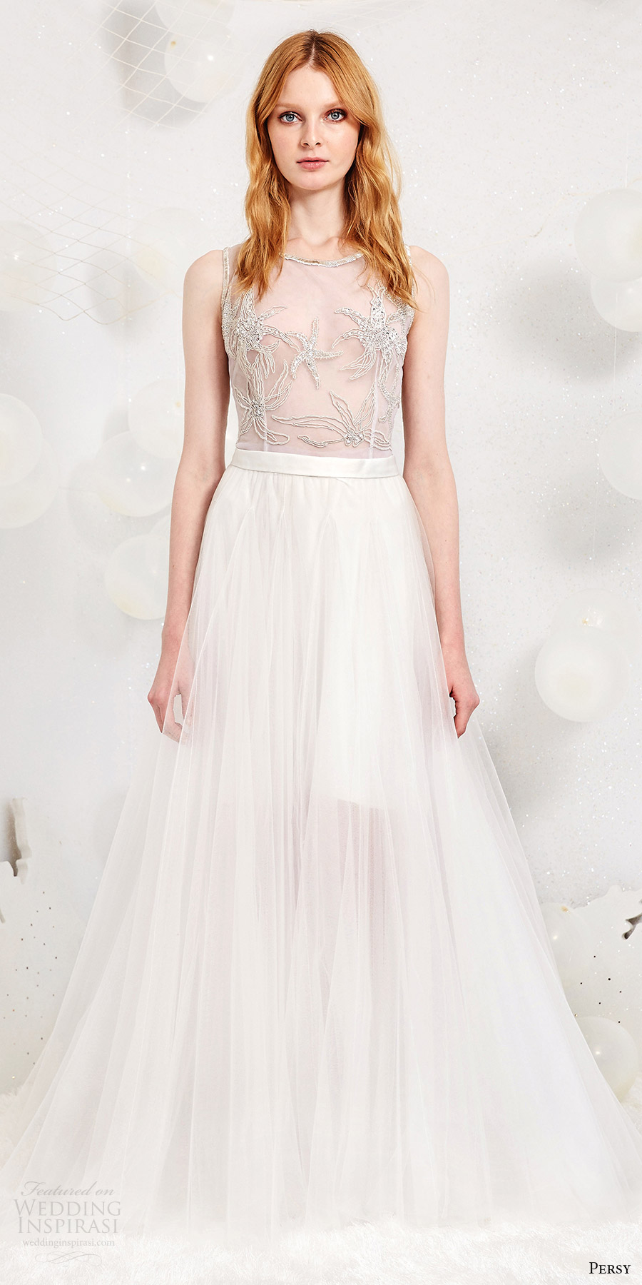 Parisian Wedding Dresses 40 Trend persy spring bridal sleeveless