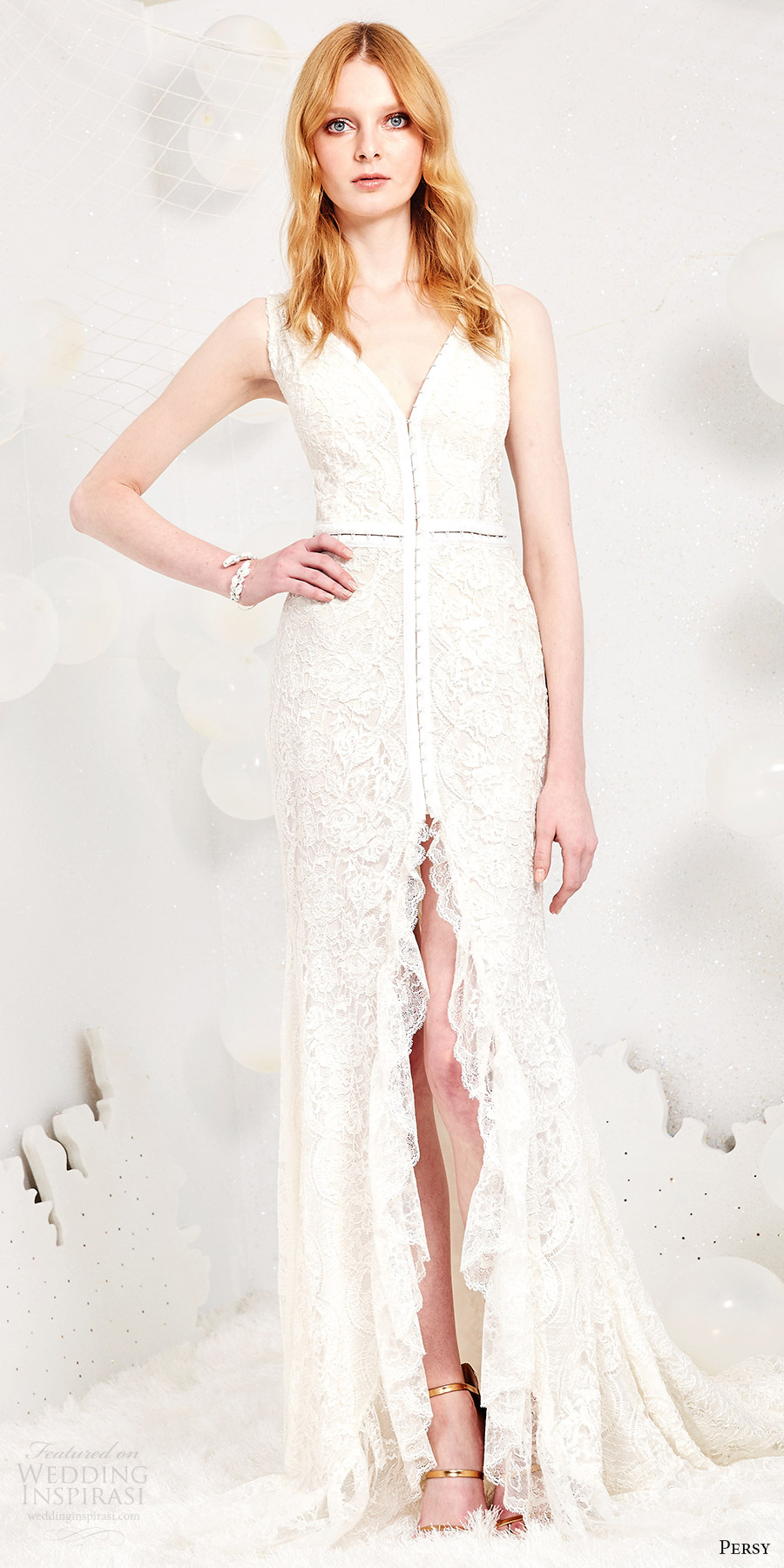 Hi Low Wedding Dress 78 Beautiful persy spring bridal sleeveless