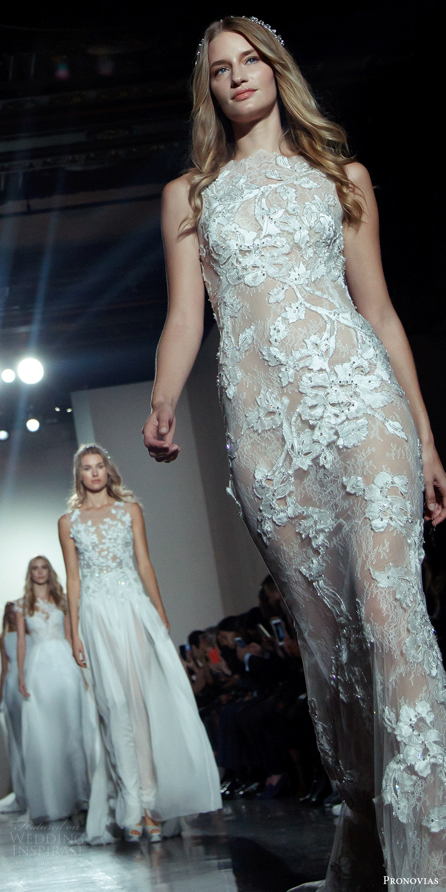 pronovias 2017 new york bridal fashion week finale runway