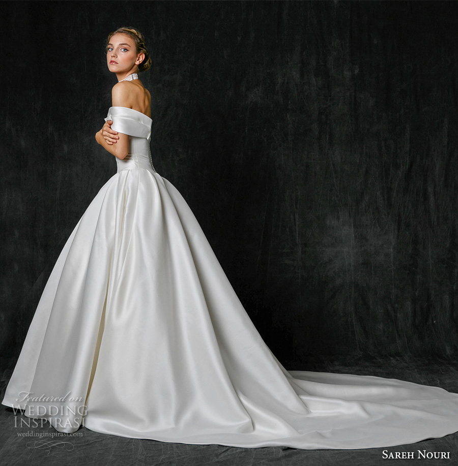 Wedding Gown Cleaning: Sareh Nouri Fall 2017 Wedding Dresses